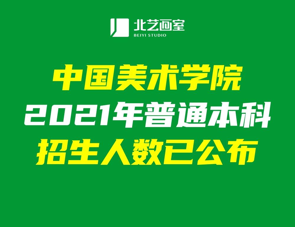 中国美术学院2021年普通本科招生人数已公布!共录取1816人!