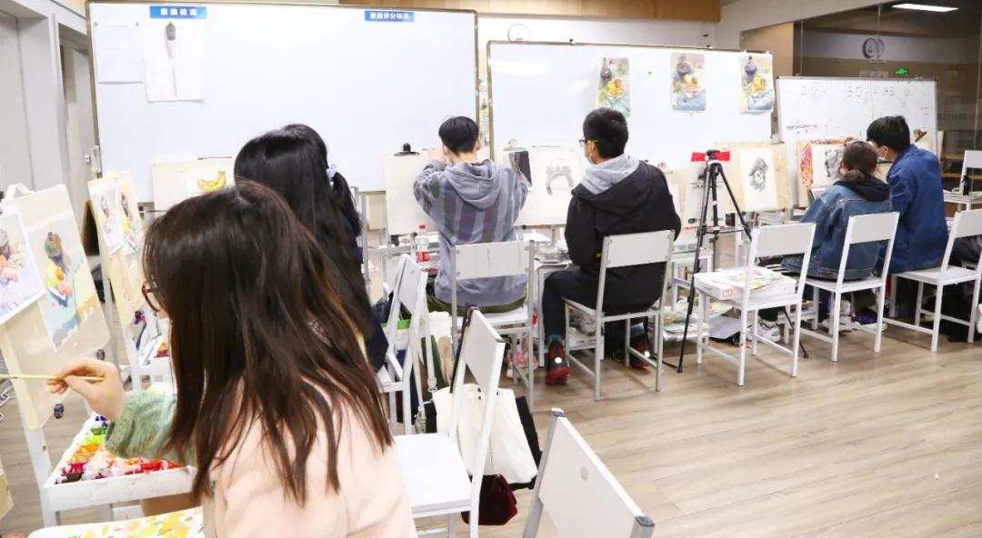 北艺老师改画